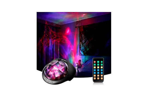 SOAIY Proyector bebes luces y musica con Bluetooth