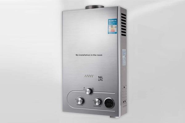 Calentadores de agua eléctricos sin tanque colgado en la pared