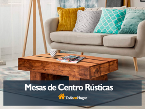 Mejores mesas de centro rústicas precios