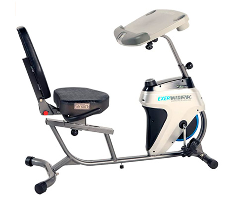 Bicicleta reclinada para personas con sobrepeso Exerpeutic 2500