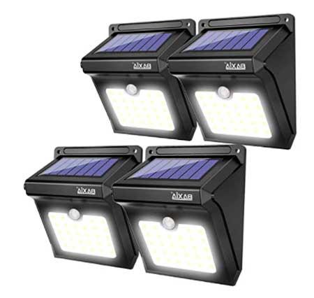 BAXIA TECHNOLOGY BX-SL-101 Luces solares al aire libre 28 LED Inalámbrico