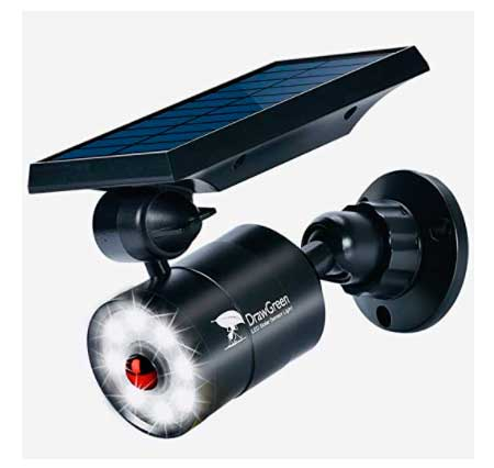 DrawGreen - Detector de movimiento redondo con lámpara DrawGreen